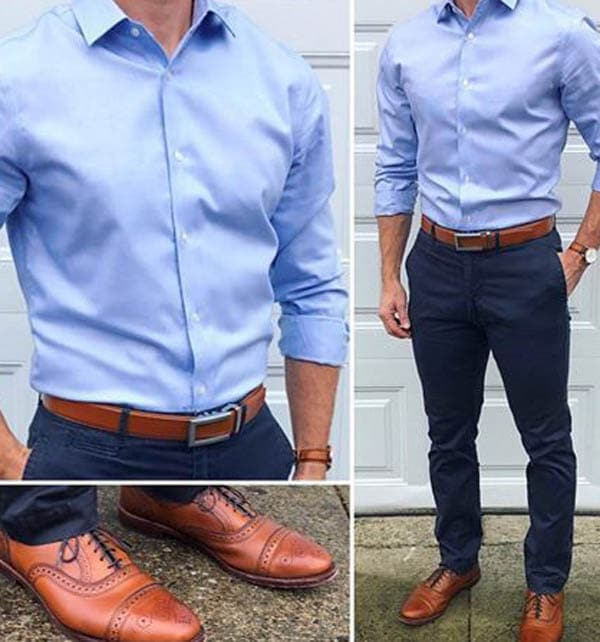 Do men's belt and shoes need to match (4)