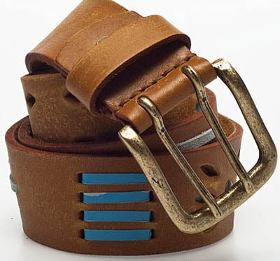 How to make leather belt