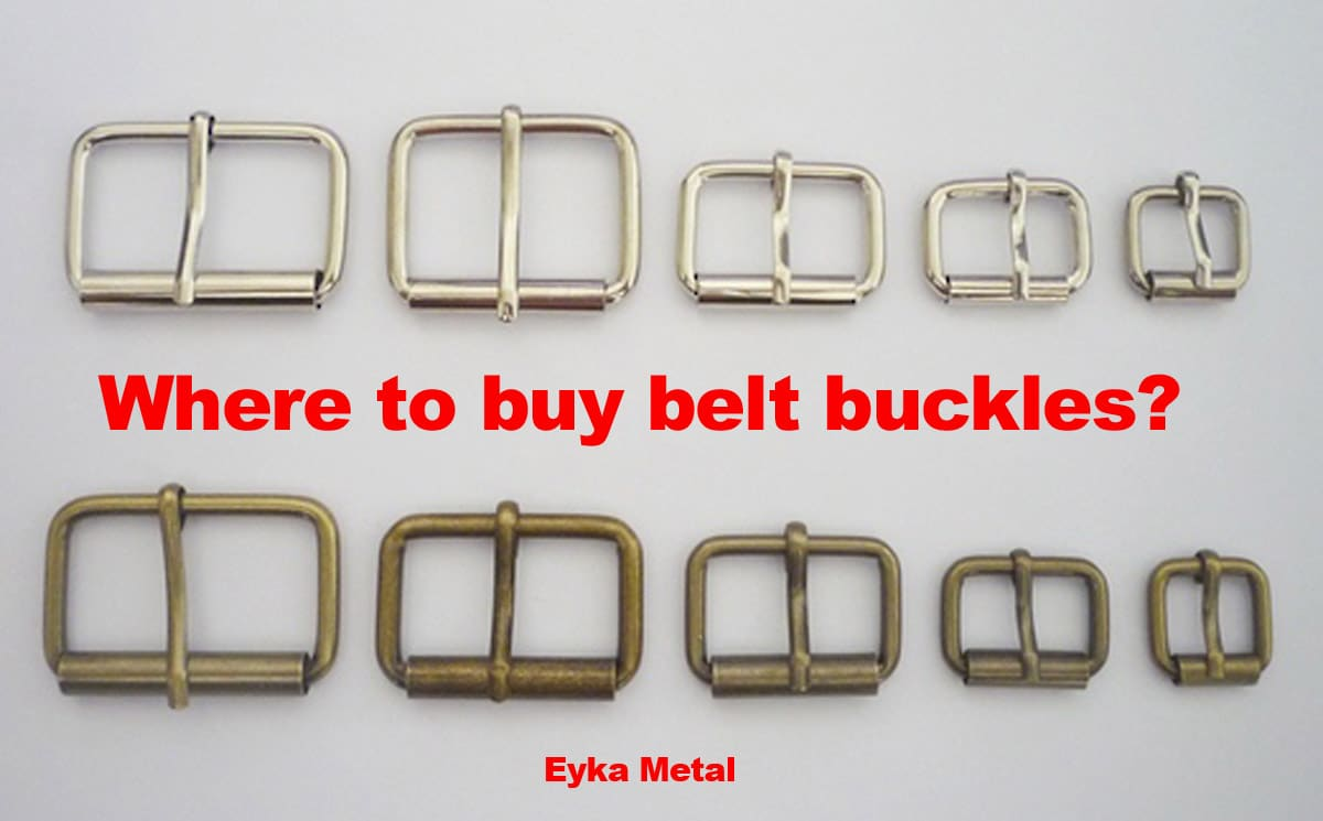Where to buy belt buckles